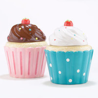 Cupcake Cookie Jars, Set of 2 | Serveware| Kitchen &amp; Dining | World Market