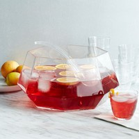 Gem Punch Bowl + Ladle