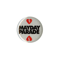 Mayday Parade Hearts Pin | Hot Topic