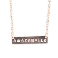 With Love From CA Amazeballs Necklace at PacSun.com