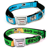 Adventure Time Dog Collars