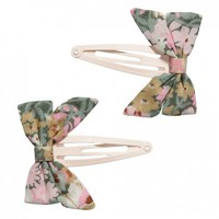 Liberty of London Thorpe Print Bow Clips