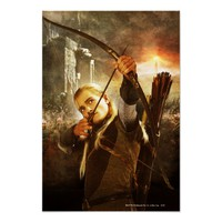 Legolas in Action Poster