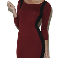 Colorblock Two-Tone Sweater Dress | Shop English Manor at Arden B