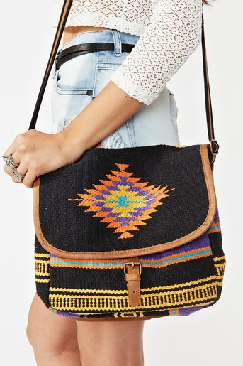 Amrita Woven Satchel in What's New at Nasty Gal