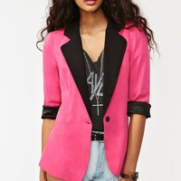 Miami Vice Blazer - Pink in What's New at Nasty Gal