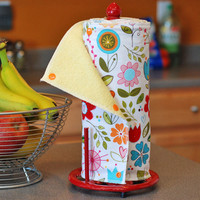 Reusable Eco Friendly Snapping Paper Towel Set  Choose by mamamade