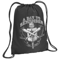 A Day To Remember: University Drawstring Backpack