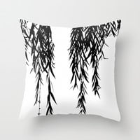 willow Throw Pillow by ingz
