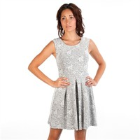 Soprano Juniors Lace Jacquard Skater Dress at Von Maur