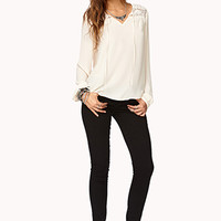 Essential Eyelash Lace Top | FOREVER 21 - 2000051834