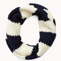 Thick Striped Infinity Scarf | FOREVER21 - 1000075756
