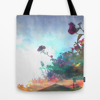 Storm of a Green Thumb Tote Bag by Ben Geiger