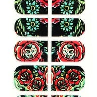 IRON FIST HOOTERS NAIL STICKERS