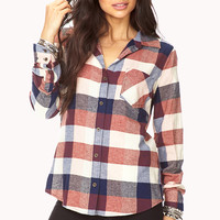 Rustic Plaid Shirt | FOREVER21 - 2040495744