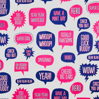 POP QUOTE GIFT WRAP