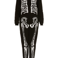 Skeleton Onesuit - Topshop USA