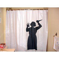 The Green Head - Psycho Mother Shower Curtain