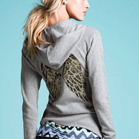 Graphic Fleece Hoodie - Supermodel Essentials - Victoria's Secret