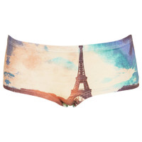 Eiffel Tower Print Boypants - Lingerie - 3 for $20 - Basic Offers - Sale & Offers - Topshop USA