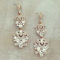 Pree Brulee - Crystal Splendor Earrings