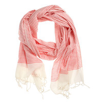 Fab: Cotton Scarf Red