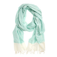 Fab: Cotton Scarf Teal