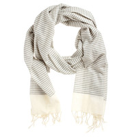 Fab: Cotton Scarf Gray