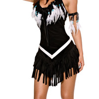 Tribal Princess Sexy Indian Costume - Native American Indian Costumes