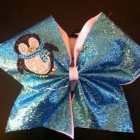 Penguin Cheer Bow