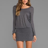 Soft Joie Brenner Dress in Dark Heather Grey