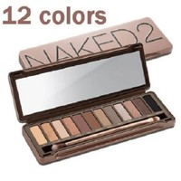 Nake 12 Colors Makeup Nk2 Eye Shadow Nake Eyeshadow 2 Palette
