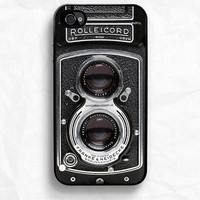 Vintage Camera Case for  iPhone 4 / 4s by CRAFIC on Etsy