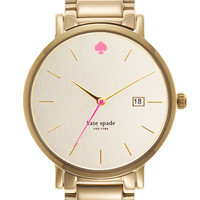 kate spade new york 'gramercy grand' bracelet watch, 38mm | Nordstrom