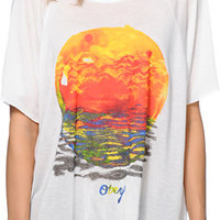 Obey Girls Rising Red Sun Natural Harmony Top at Zumiez : PDP