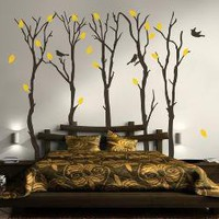 Vinyl Wall Sticker Decal Art Fall Trees by urbanwalls on Etsy
