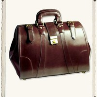 LEATHER DOCTORS' BAG