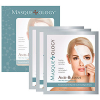 Masque*ology Anti-Blemish Masque With Tea Tree Leaf Extract (3 Masks x 1.06 oz)