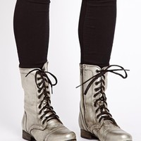Steve Madden Troopa Lace Up Ankle Boots