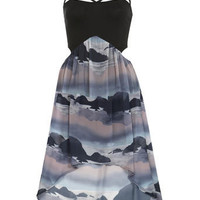 Petites Scene Printed Dress - View All - Dress Shop - Miss Selfridge US