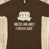 NEED AN ARC I NOAH GUY T-SHIRT