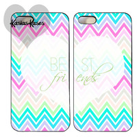 Chevron best friends phone cases
