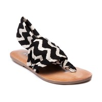 Womens Dirty Laundry Beka 2 Sandal, Black White, at Journeys Shoes