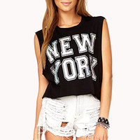 New York Hologram Muscle Tee