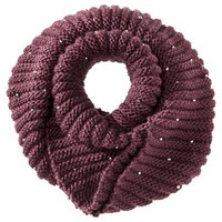 Mossimo® Sequin Infinity Scarf - Red