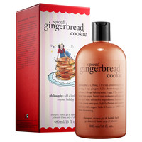 Sephora: Philosophy : Spiced Gingerbread Cookie Shampoo, Shower Gel & Bubble Bath : body-wash-shower-gel
