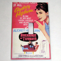 Light Switch Cover - Light Switch Plate Breakfast At Tiffanys Audrey Hepburn