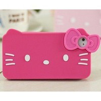 iPhone 4G/4S Hello Kitty Soft Case/Cover/Protector