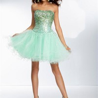 Sticks and Stones 9253 - Short Prom Dress - Formal Dress - Homecoming Dress - 9253