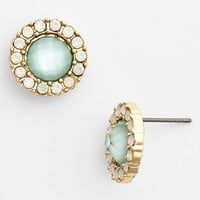 BP. Round Crystal Stud Earrings (Juniors) | Nordstrom